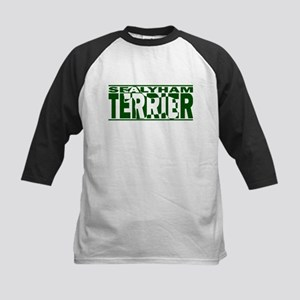 Hidden Sealyham Terrier Kids Baseball Jersey