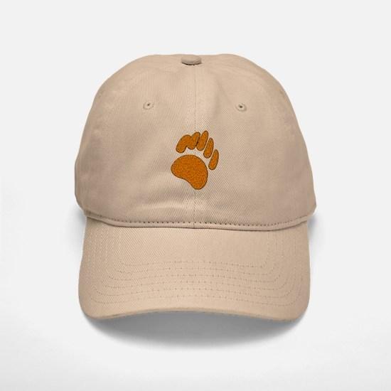 GOLDEN SPECK BEAR PAW Baseball Baseball Cap