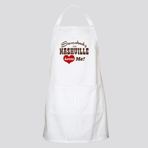 Somebody in Nashville Loves Me BBQ Apron