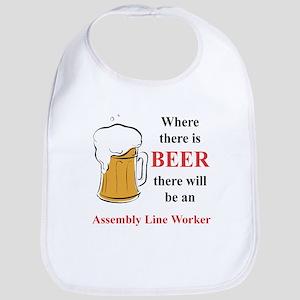 Assembly Line Worker Bib