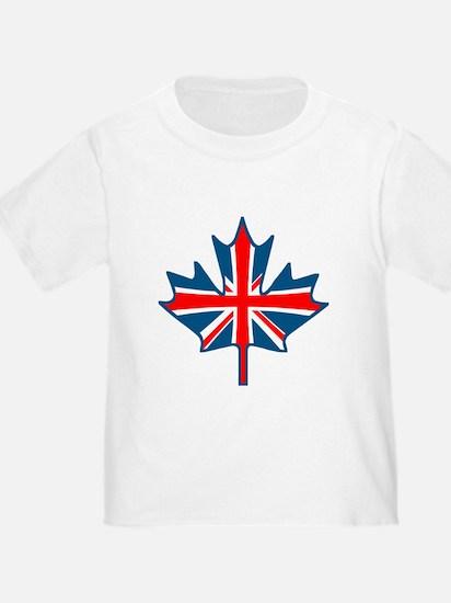 Union Jack Maple Leaf T