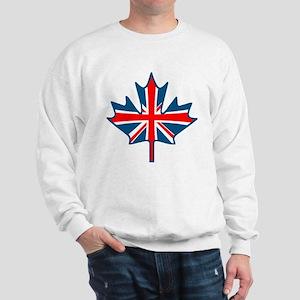 Union Jack Maple Leaf Sweatshirt