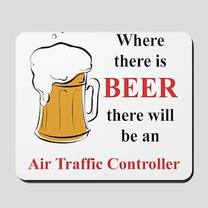 Air Traffic Controller Mousepad
