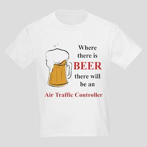 Air Traffic Controller Kids Light T-Shirt