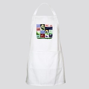 UFO Photos I Believe BBQ Apron