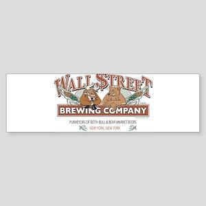 Wall Street - The Stock Exchange Sticker (Bumper)