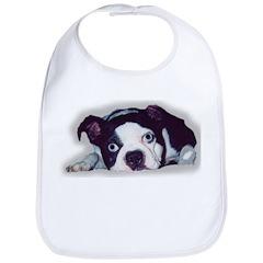 BOSTON TERRIER SWEET DOG Bib