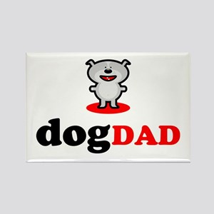 Dog Dad Rectangle Magnet