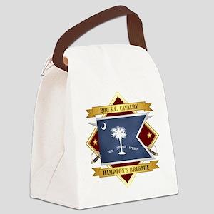 2nd South Carolina Cavalry Canvas Lunch Bag