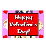 Happy Valentine's Day! Postcards (Package of 8)