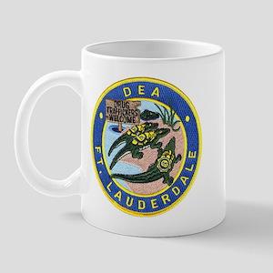 D.E.A. Ft. Lauderdale Mug