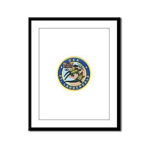 D.E.A. Ft. Lauderdale Framed Panel Print