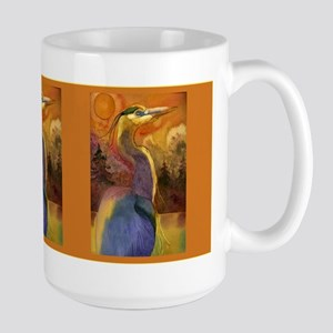 Gold Moon Landscape and Great Large Mug