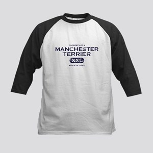 Property of Manchester Terrier Kids Baseball Jerse