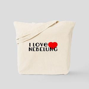 I Love Nebelung Tote Bag