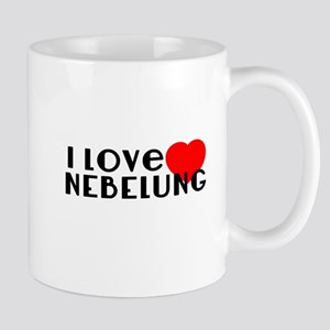 I Love Nebelung 11 oz Ceramic Mug