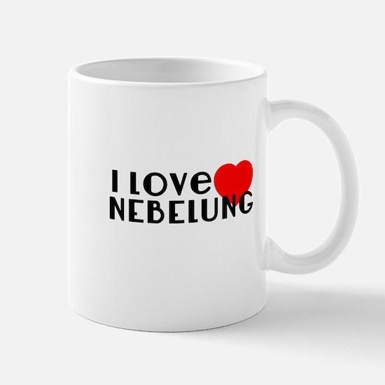 I Love Nebelung Mug