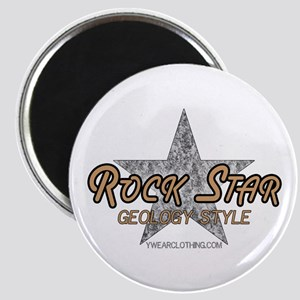 Geology Rock Star Magnet