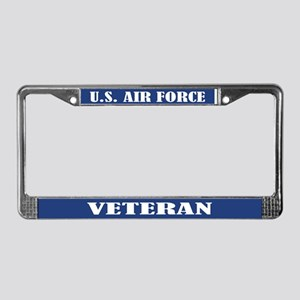 U.s. Air Force Veteran License Plate Frame