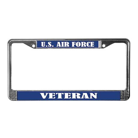 U S Air Force Veteran License Plate Frame By Funlicenseframe