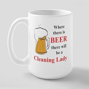 Cleaning Lady Large Mug