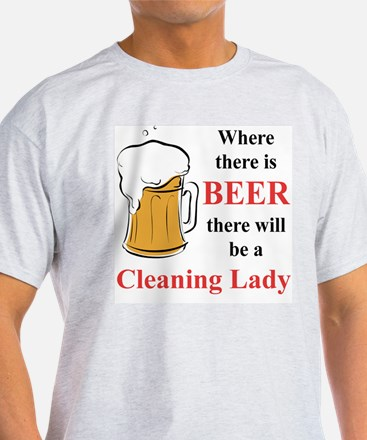 Cleaning Lady T-Shirt