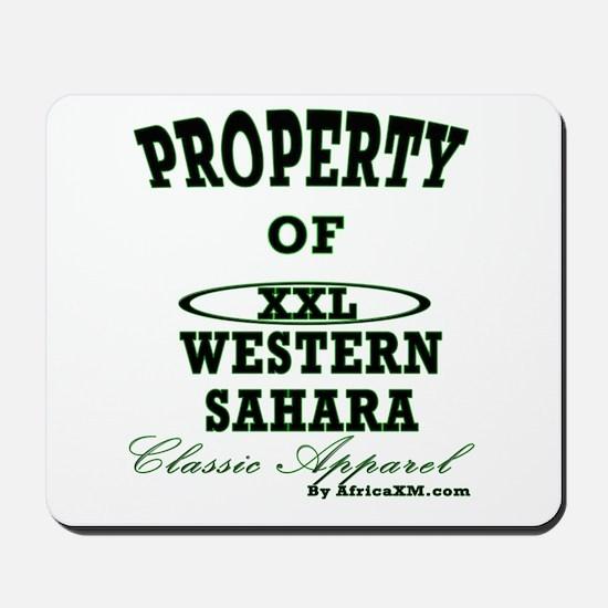 Property Of Western Sahara Cl Mousepad