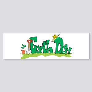 Earth Day V Bumper Sticker