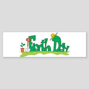 Earth Day V Bumper Sticker