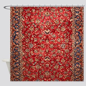 Persian Carpet Pattern Shower Curtain