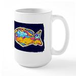 Tropical Fish 15 oz. Large Mug