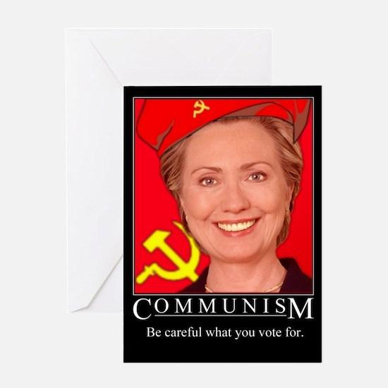 Cute Communist Greeting Card