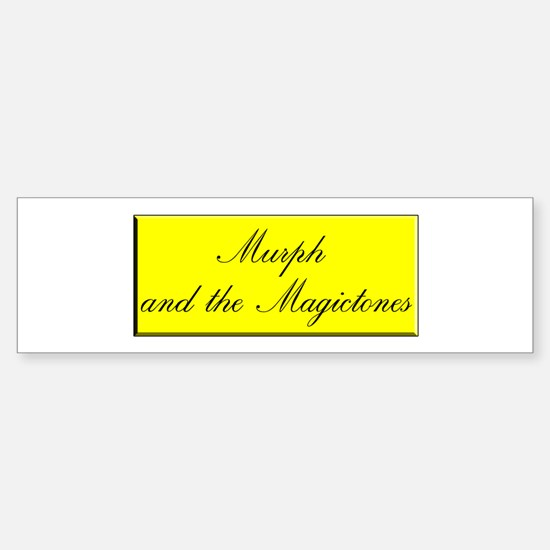Murph & The Magictones Bumper Car Car Sticker