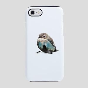 Bird Double Exposure iPhone 8/7 Tough Case