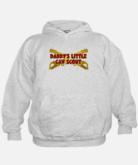 Daddy's Little Cav Scout Hoodie