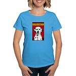 Obey the Dalmatian! Women's Dark T-Shirt