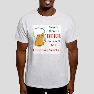 Childcare Worker Light T-Shirt