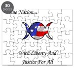 One Nation Wiccan Puzzle