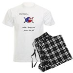 One Nation Wiccan Men's Light Pajamas