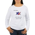 One Nation Wiccan Women's Long Sleeve T-Shirt