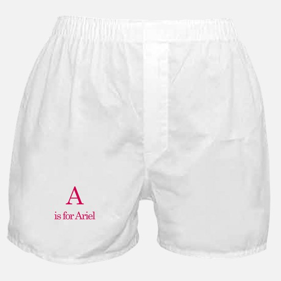 A is for Ariel Boxer Shorts
