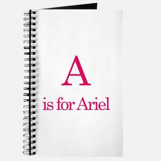 A is for Ariel Journal