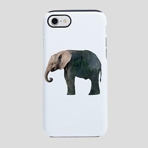 Elephant Double Exposure iPhone 8/7 Tough Case