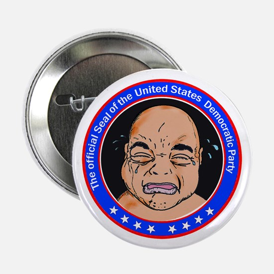 "Official Democratic Seal 2.25"" Button"