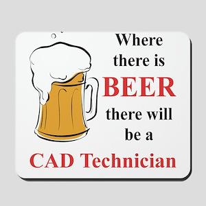 CAD Technician Mousepad