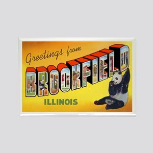 Brookfield Illinois Greetings Rectangle Magnet
