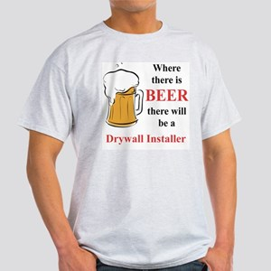 Drywall Installer Light T-Shirt