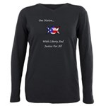 One Nation Wiccan Plus Size Long Sleeve Tee
