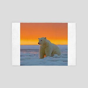 Polar Bear 4' x 6' Rug