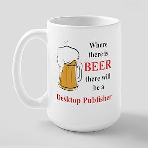 Desktop Publisher Large Mug